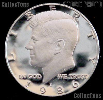 1986-S Kennedy Half Dollar * GEM Proof 1986-S Kennedy Proof