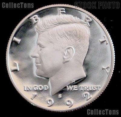 1992-S Kennedy Silver Half Dollar * GEM Proof 1992-S Kennedy Proof
