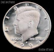 1992-S Kennedy Silver Half Dollar * GEM Proof 1992-S Kennedy Proof