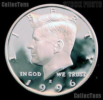 1996-S Kennedy Half Dollar * GEM Proof 1996-S Kennedy Proof