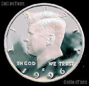1996-S Kennedy Half Dollar * GEM Proof 1996-S Kennedy Proof