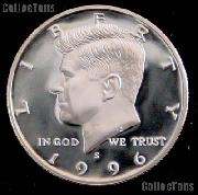 1996-S Kennedy Silver Half Dollar * GEM Proof 1996-S Kennedy Proof