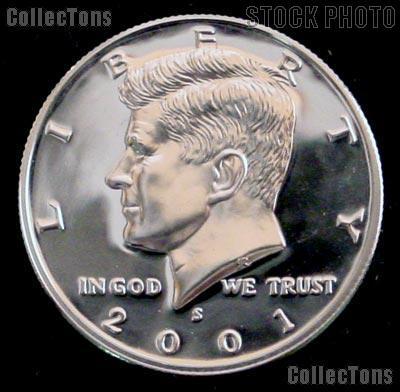 2001-S Kennedy Silver Half Dollar * GEM Proof 2001-S Kennedy Proof