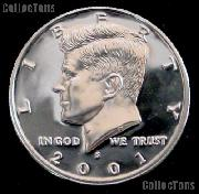 2001-S Kennedy Silver Half Dollar * GEM Proof 2001-S Kennedy Proof