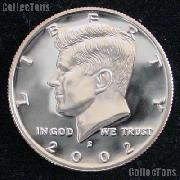 2002-S Kennedy Silver Half Dollar * GEM Proof 2002-S Kennedy Proof