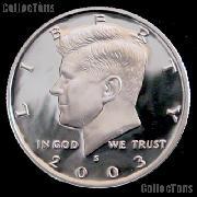 2003-S Kennedy Silver Half Dollar * GEM Proof 2003-S Kennedy Proof