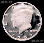 2005-S Kennedy Half Dollar * GEM Proof 2005-S Kennedy Proof
