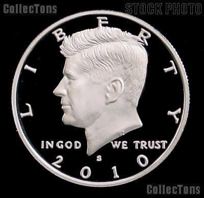 2010-S Kennedy Half Dollar - Gem Proof