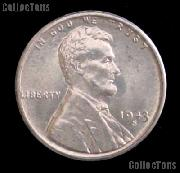 1943-S Steel Penny Wartime Lincoln Wheat Cent GEM BU Penny for Album