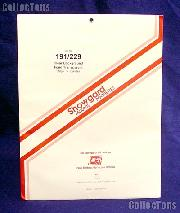 Showgard Pre-Cut Clear Stamp Mounts Size 191/229
