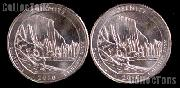 2010 P & D California Yosemite National Park Quarters GEM BU America the Beautiful