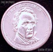 2010-D James Buchanan Presidential Dollar GEM BU 2010 Buchanan Dollar