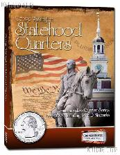 Statehood Quarters Album for Statehood Commemorative Quarter Series P & D by Cornerstone