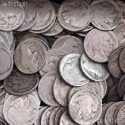 Buffalo Nickel Rolls - 40 Coins - No Dates