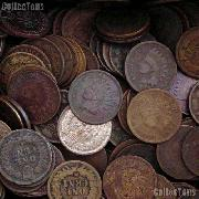 Indian Head Cent Rolls - 50 Pennies