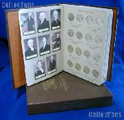 Presidential Coin Set 2007 to 2014 P & D BU Presidential Dollar Set (64 Coins) in Album #7184
