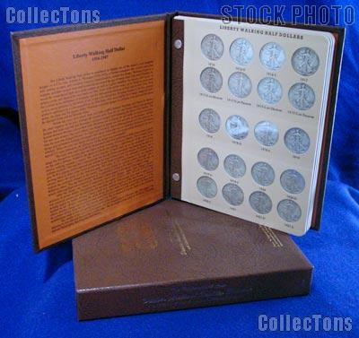 Walking Liberty Set 1916 - 1947 CIRC Walking Liberty Silver Half Dollar Set (65 Coins) in Album