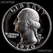 1970-S Washington Quarter PROOF Coin 1970 Quarter