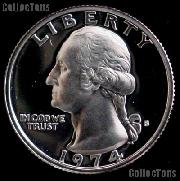 1974-S Washington Quarter PROOF Coin 1974 Quarter