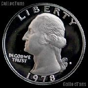 1978-S Washington Quarter PROOF Coin 1978 Quarter