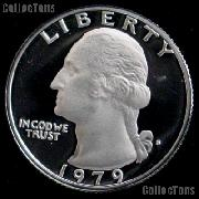 1979-S Washington Quarter Type 2 PROOF Clear S Coin