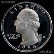 1988-S Washington Quarter PROOF Coin 1988 Quarter