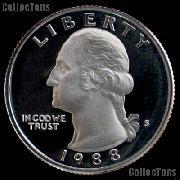 1988-S Washington Quarter PROOF Coin 1988 Quarter
