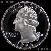 1996-S Washington Quarter SILVER PROOF 1996 Quarter Proof Coin