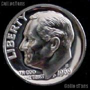 1969-S Roosevelt Dime PROOF Coin 1969 Dime