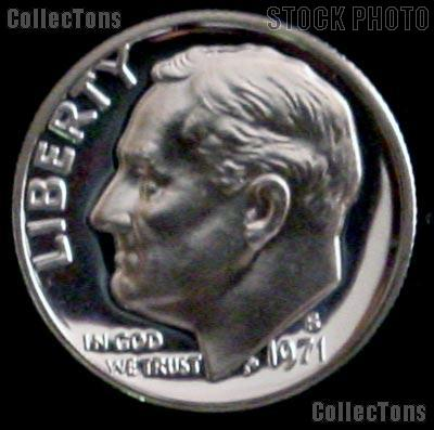 1971-S Roosevelt Dime PROOF Coin 1971 Dime
