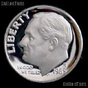1985-S Roosevelt Dime PROOF Coin 1985 Dime