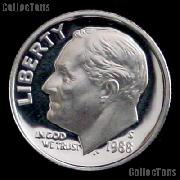 1988-S Roosevelt Dime PROOF Coin 1988 Dime