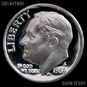 1989-S Roosevelt Dime PROOF Coin 1989 Dime