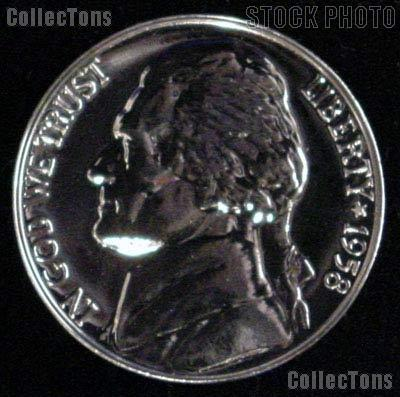 1958 Jefferson Nickel PROOF Coin 1958 Proof Nickel Coin