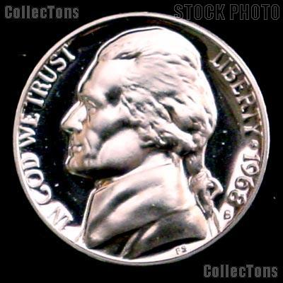 Great Looking coin for any collection *WOW*  1968-S Proof Jefferson Nickel