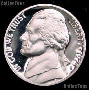 1975-S Jefferson Nickel PROOF Coin 1975 Proof Nickel Coin