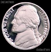 1986-S Jefferson Nickel PROOF Coin 1986 Proof Nickel Coin