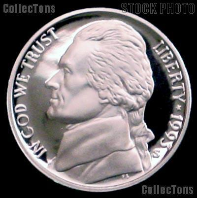 S  Jefferson  Nickel  Gem  Proof  Nice US Coin  Combined  Shipping 1993