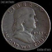 1948-D Franklin Half Dollar Silver Coin 1948 Half Dollar Coin