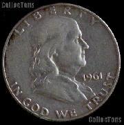 1961 Franklin Half Dollar Silver Coin 1961 Half Dollar Coin