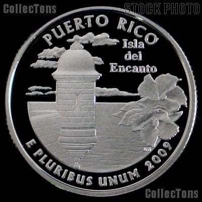 2009-S  Puerto Rico Quarter PROOF Coin 2009 Quarter