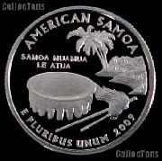 2009-S  American Samoa Quarter PROOF Coin 2009 Quarter