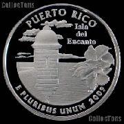 2009-S Puerto Rico Quarter SILVER PROOF 2009 Silver Quarter