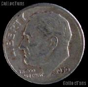 1950-D Roosevelt Dime Silver Coin 1950 Silver Dime