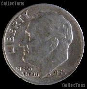 1956-D Roosevelt Dime Silver Coin 1956 Silver Dime