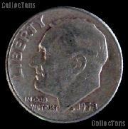 1958 Roosevelt Dime Silver Coin 1958 Silver Dime