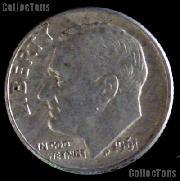 1961-D Roosevelt Dime Silver Coin 1961 Silver Dime