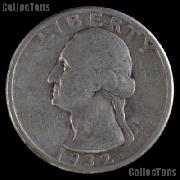 1932-D Washington Quarter Silver Coin 1932 Silver Quarter