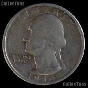 1934-D Washington Quarter Silver Coin 1934 Silver Quarter