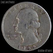 1944-D Washington Quarter Silver Coin 1944 Silver Quarter